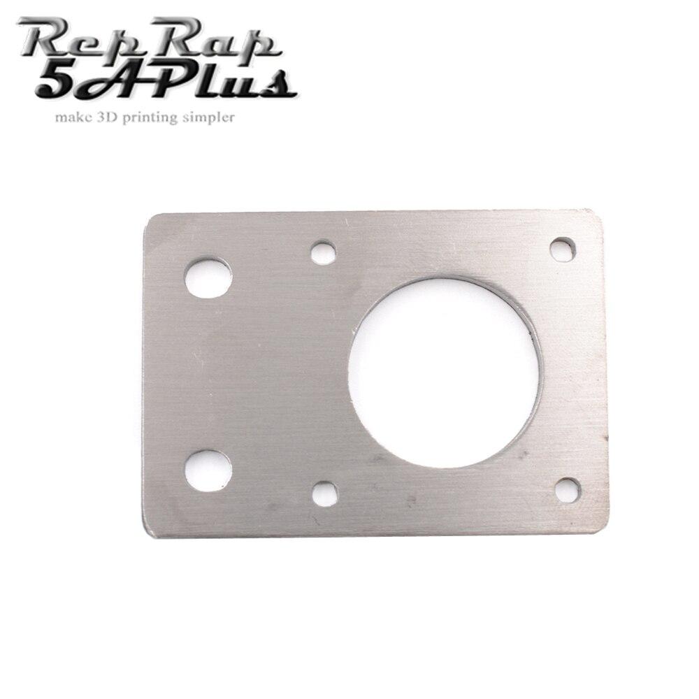 1PCS NEMA 17 42-Series Mounting Plate Fixed Plate Stepper Motor Bracket CNC Parts fit 2020 Profiles For Reprap 3D Printer цена