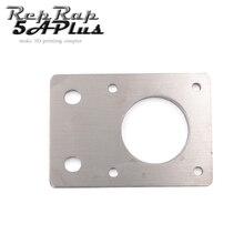 1 adet NEMA 17 42-serisi montaj plakası sabit plaka step Motor braketi CNC parçaları için fit 2020 profilleri reprap 3D yazıcı