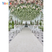 Yeele Wedding Ceremony Party Love Flowers Happiness Photography Backdrops Personalized Photographic Backgrounds For Photo Studio