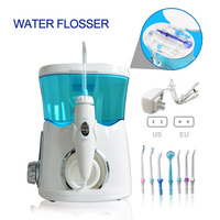 Electric Oral Irrigator Water Flosser Jet Oral Mouth Cleaning Teeth Pick Household Dental Irrigator Water Floss With 8 Nozzles