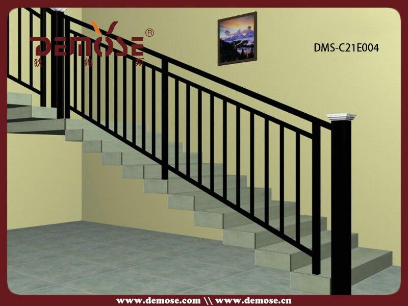 Outdoor metal stair railing prefab metal stair railing - Pasamanos de escaleras ...