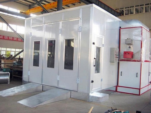 China Professional Car Paint Room Baking Spray Booth With Cheap Price