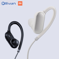 Original Xiaomi Sport Bluetooth Headphones V4 1 Volume Control Earphone For Iphone 7 For Samsung S7
