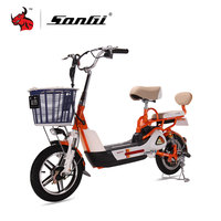 SONGI Electric motorbike High Speed Motor Powerful Electric Vehicle 240W TDT272Z 48V/2A AC220V 50Hz