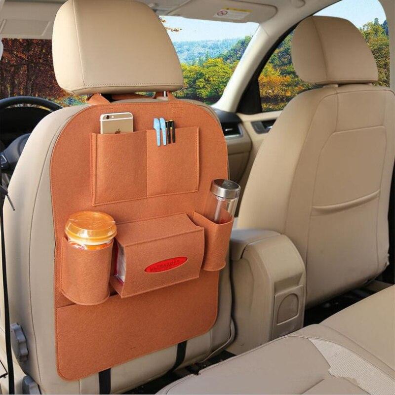 1PCS Car seat back storage bag For Audi A1 A2 A3 A4 A5 A6 A7 A8 Q2 Q3 Q5 Q7 S3 S4 S5 S6 S7 S8 TT TTS RS3 RS4 RS5 RS6