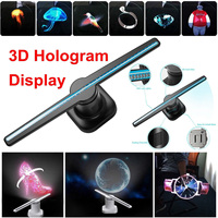 Smuxi Full 3D Holographic Graphics LED lamp Fan Display Picture Video Hologram Player Unique Hologram Projector