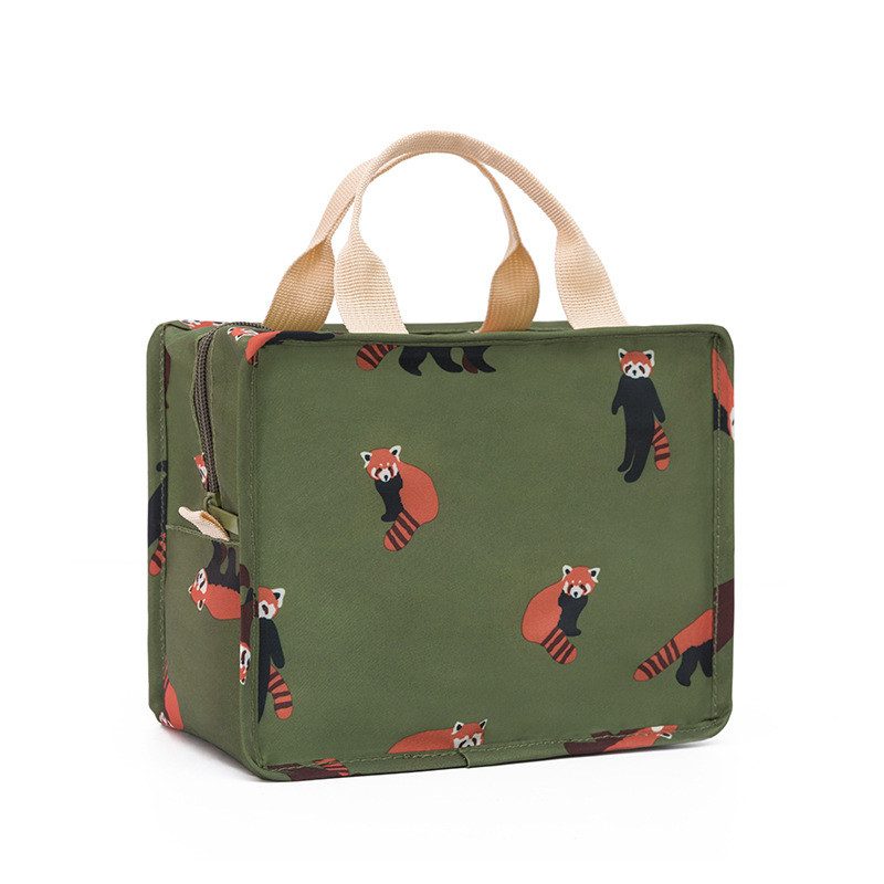 New Cute Women Ladies Girls Kids Portable Insulated Lunch Bag Box Picnic Tote Cooler Animal Printing Handle Waterproof 10Oct 16New Cute Women Ladies Girls Kids Portable Insulated Lunch Bag Box Picnic Tote Cooler Animal Printing Handle Waterproof 10Oct 16