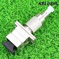KELUSHI Wholesale Price FC/UPC To SC/UPC Male to Female Fiber Optical Hybrid Adapter For Optical Fiber Cables