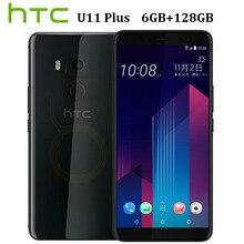 HK версия обнаженной Новый htc U11 плюс U11 + 4G LTE мобильный телефон 6 ГБ Оперативная память 128 GB Встроенная память Octa Core 6,0 «IP68 1440×2880 P Android8.0 Callphone
