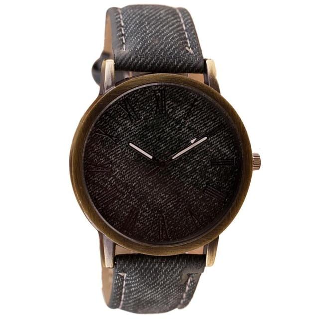 Retro Vogue WristWatch Cowboy Leather Band Analog Quartz Watch Bayan Kol Saati E