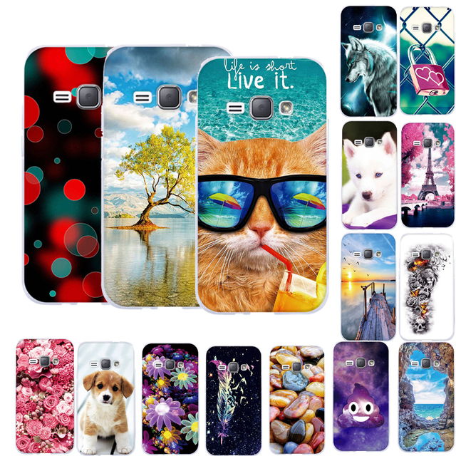 Case For Samsung Galaxy J1 2016 J120 Silicone Soft TPU Back Cover For Samsung J1(6) J120 J1 2016 J120F SM-J120F Phone Case Cover