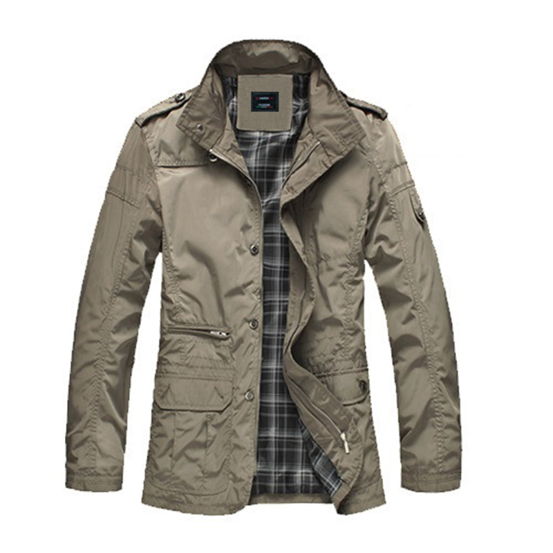Men Increase Weight Gain Big Fat Coat Business Men Casual Collar Plus Cotton Jacket Coat Clothes
