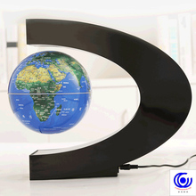 Magnetic Levitation Floating World Map Anti-gravity Earth Globe LED Light Home Office Desk Decoration Gift Teaching Resources new revolution magnetic levitation anti gravity device science educate toy