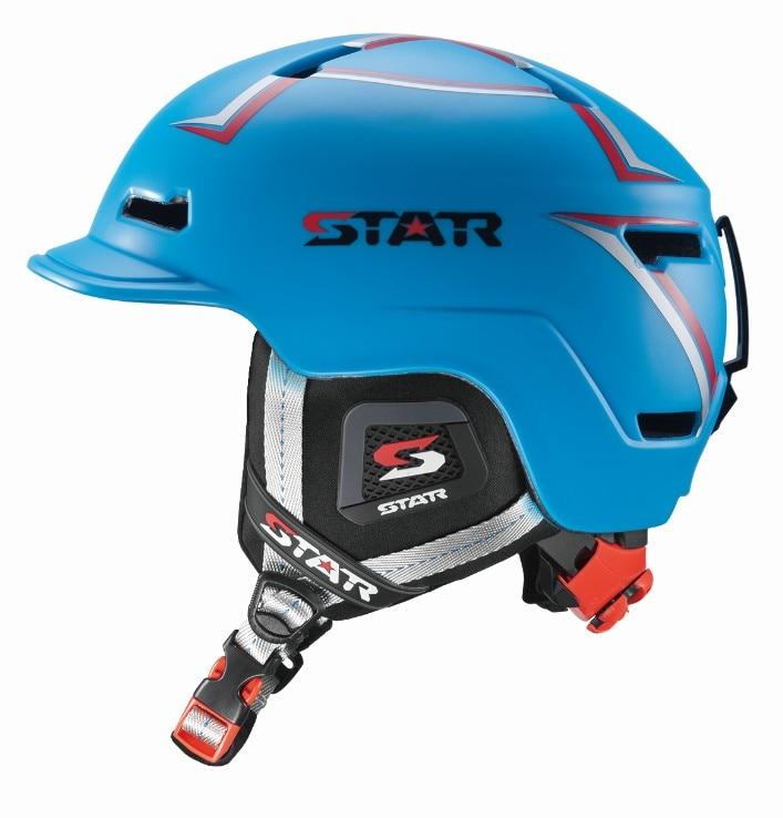 2018 Nouveau design Adulte casque De Ski CE ASTM Safty Certificat Moulée Intégralement Taille régulateur