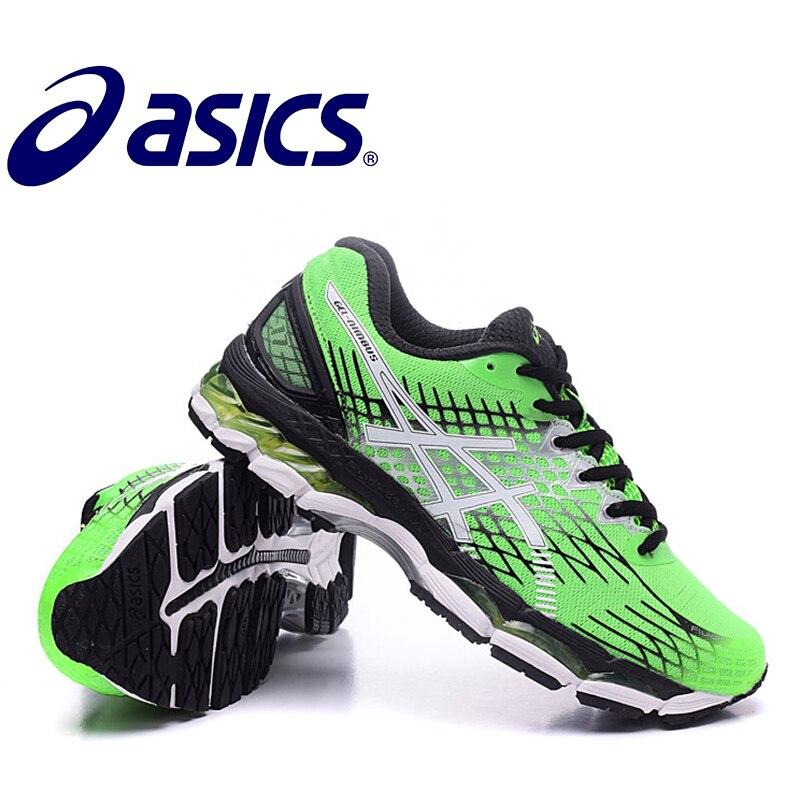 ASICS GEL-KAYANO 17 Tênis Sapatas Running ASICS Sapatos Ao Ar Livre Sapatos Confortáveis  Sapatilhas 85663fad20267