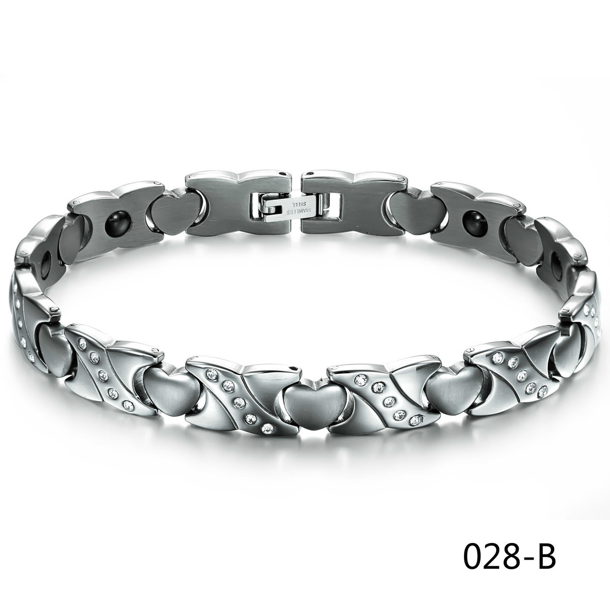 Fashion Ornaments Bring Magnetism Healthcare The Steel Chain Love Bracelet
