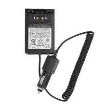 YAESU SBR 14LI Car Charger Battery Eliminator DC12V for Yaesu VX 8R VX 8DR VX 8GR FT 1DR FT1XD FT 2DR radio FNB 102LI FNB 101Li