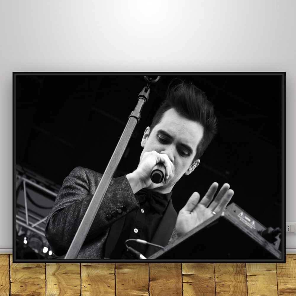 Panic At The Disco Art Silk Poster Home Decor 12x18 24x36inch