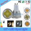 Lampada led 9 W 12 W 15 W lâmpada led GU10 regulável lâmpadas led 85 - 265 V led 2 anos de garantia