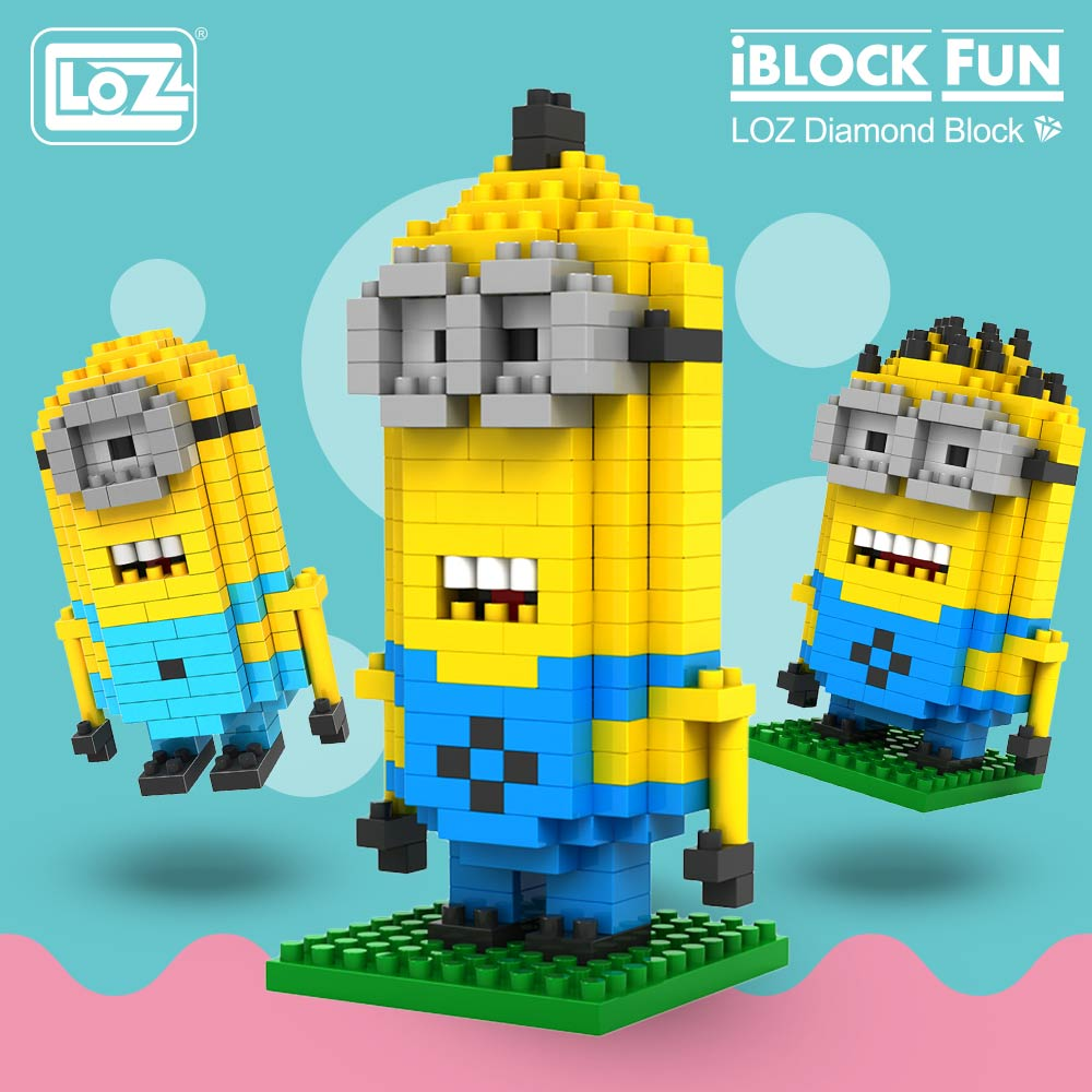 WiseHawk Space WALL E Yellow Robot Mini Micro Diamond Building Nano Blocks Toy