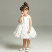 Brand Baby Girls Christmas Dress Gowns Newborn Party Dresses For Girls Princess Infant 1 Year Birthday