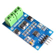 Rs422 conversão mútua ttl módulo de sinal bidirecional frente e verso completo 422 vez única chip max490 ao módulo ttl
