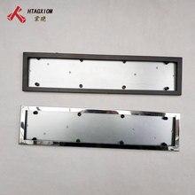 1 Pcs Car License Plate Frame Metal Frame License Plate Holder Number Plate Holder Fit EU Vehicles Standard Car Styling все цены