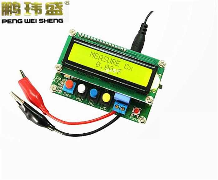 LC100-A Digital LCD High Precision Inductance Capacitance L/C Meter capacitor Test Instruments  цены