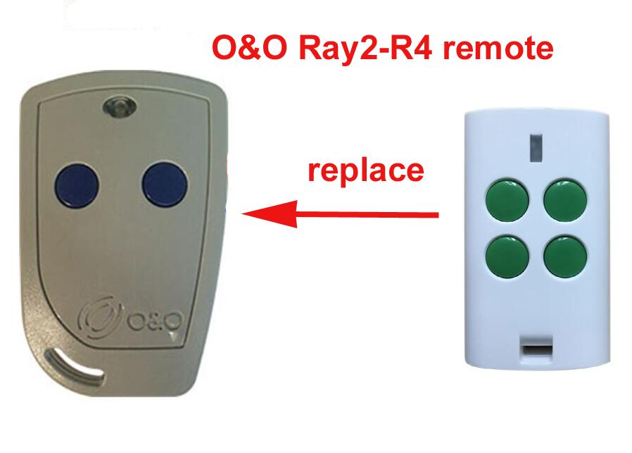 O&O R4-4 compatible remote control OeO TX2/TX4 garage door opener free shipping for ballan fm404b 4013 fm404 fm self learning compatible garage door cloning remote control free shipping