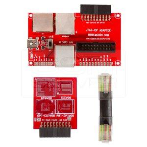 imágenes para Adaptador TODO EN 1 Para RIFF JTAG ISP FÁCIL E-MATE EMMC Z3X JTAG PRO MEDUSA JTAG BOX ATF BOX