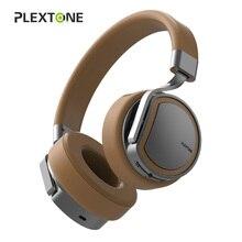 PLEXTONE Fones De Ouvido Sem Fio Bluetooth Estéreo Fone De Ouvido Fones De Ouvido Fones De Ouvido com Microfone/8g Mp3 Music Player para o Telefone Móvel