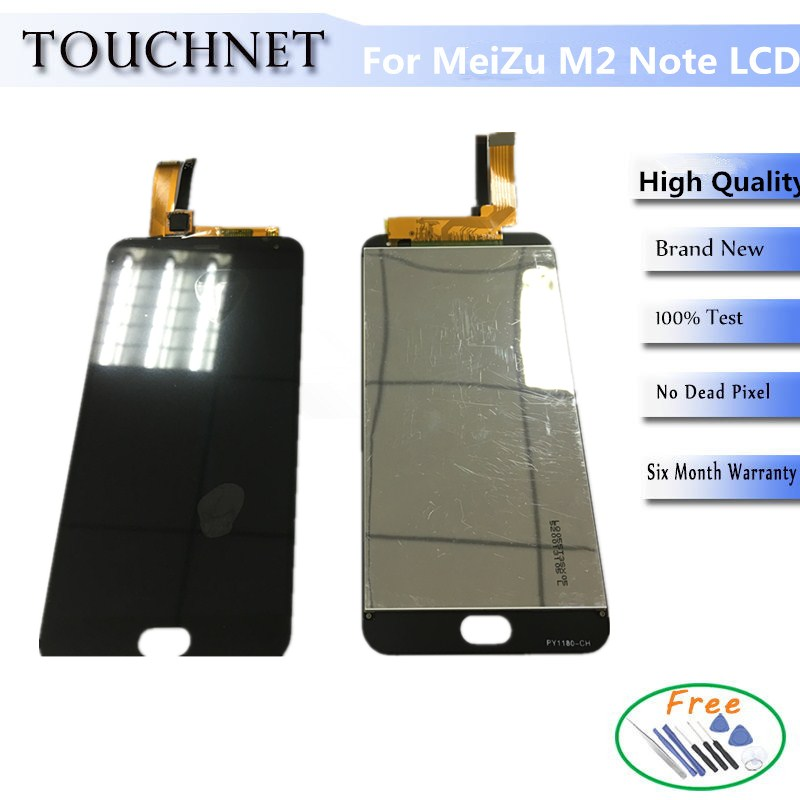 Envío gratis nueva original lcd de pantalla para meizu note2/meilan nota $ numbe