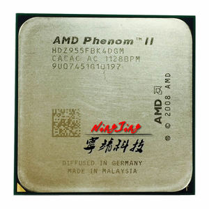 AMD Phenom II X4 955 955 3.2 GHz Quad-Core CPU Processor 125W HDZ955FBK4DGM / HDX955FBK4DGI / HDZ955FBK4DGI Socket AM3