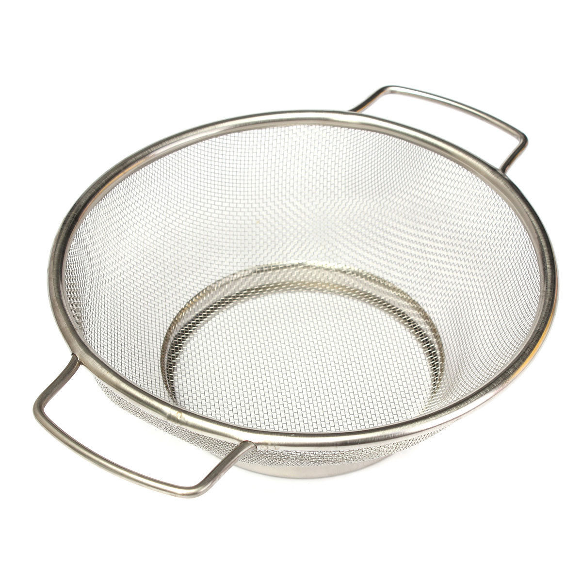 HOT SALE Stainless Steel Fine Mesh Strainer Bowl Drainer Vegetable Sieve Colander Sifter