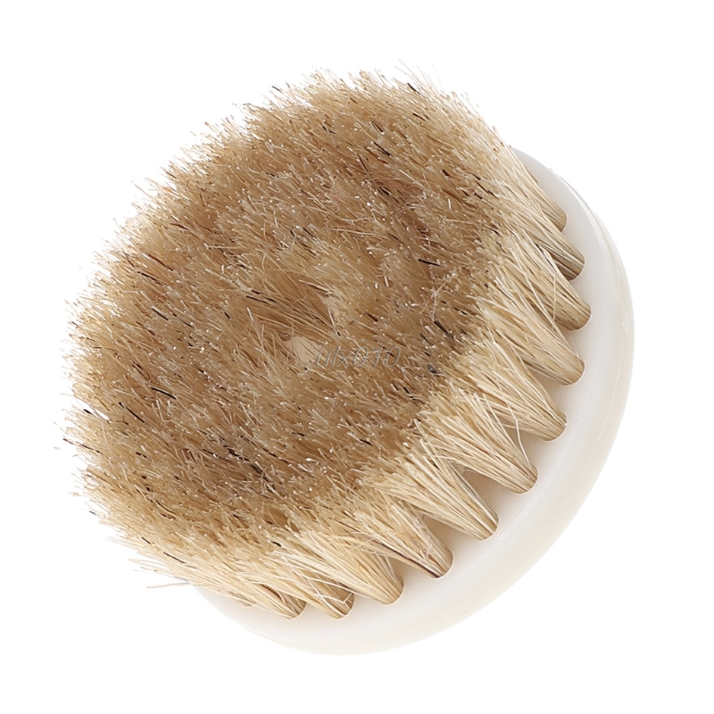 60mm Drill Powered Scrub Heavy Duty Cleaning Brush With Stiff Bristles Tools Brown Color Mar Drop Ship