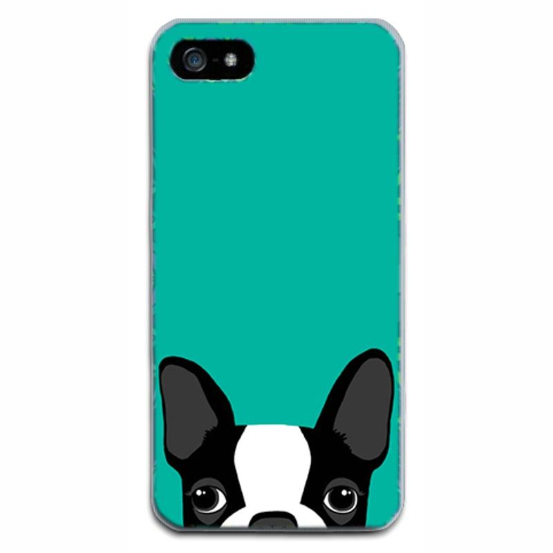 HTB1u.4jRpXXXXXXapXXq6xXFXXXW - Dog Cute Animal Soft TPU Cases For Iphone 5 5S SE Cover Phone Bags Silicon Thin PTC PTC 197