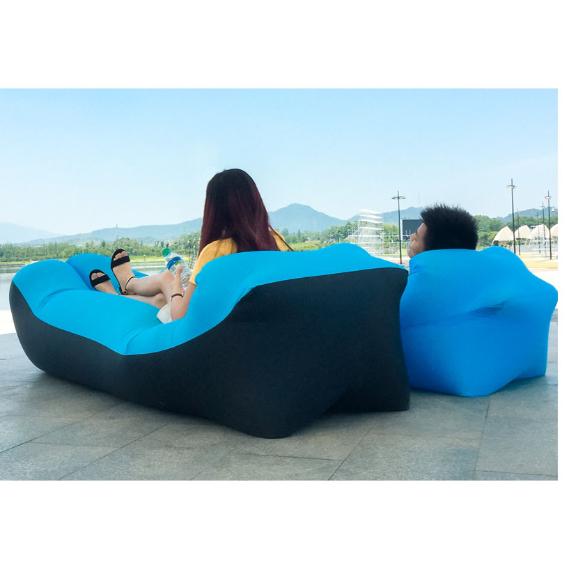 Sleeping bag camping equipment lazy bag inflatable air sofa beach air bed chair hamac gonflable lounger sofa hinchable laybag otomatik çadır