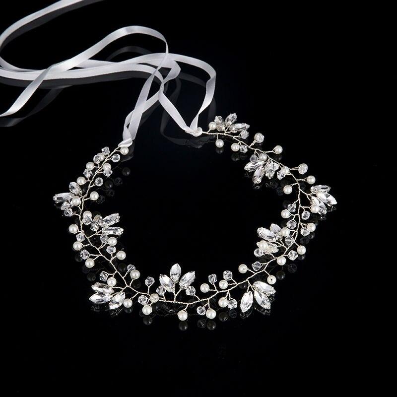 Hirband  crystal Imitation Pearl (2)