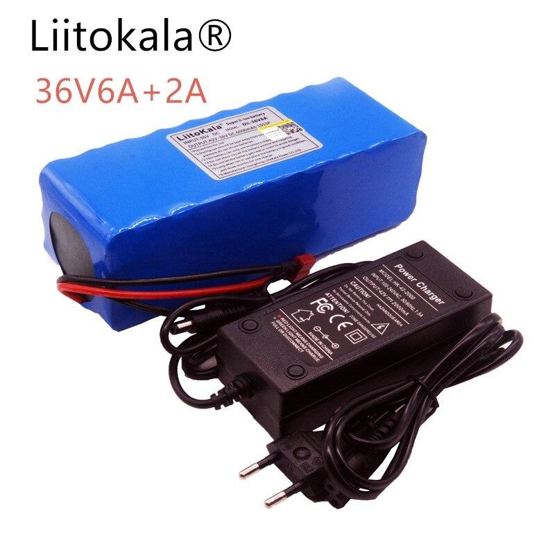 HK LiitoKala 36 v 6ah 500 w 18650 Batterie Au Lithium 36 v 6000 mah Batterie Électrique Vélo avec PVC Boîte pour Vélo Électrique