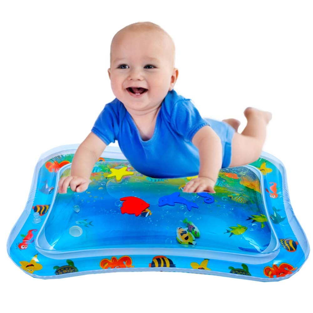 Inflatable Tummy Time Premium Water Mat Infants & Toddlers