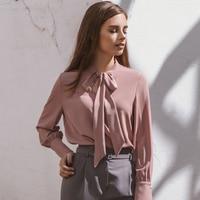 Блузка в пыльно-розовом цвете