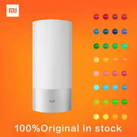 100 Indoor Xiaomi Yeelight Wireless LED Bed Lamp 16 Million RGB Color Touch Control Free Shipping