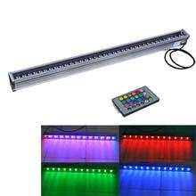 Водонепроницаемый IP65 36 Вт 36-LED RGB из светодиодов высокой мощности стены стиральная машина наружного освещения ( DC 24 В, 10 шт./лот )