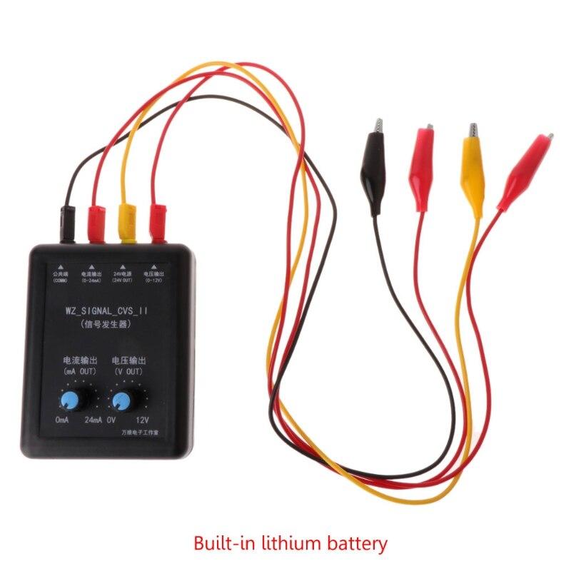 все цены на 4-20mA 0-10v Signal Generator 24V Current Voltage Transmitter Signal Simulation
