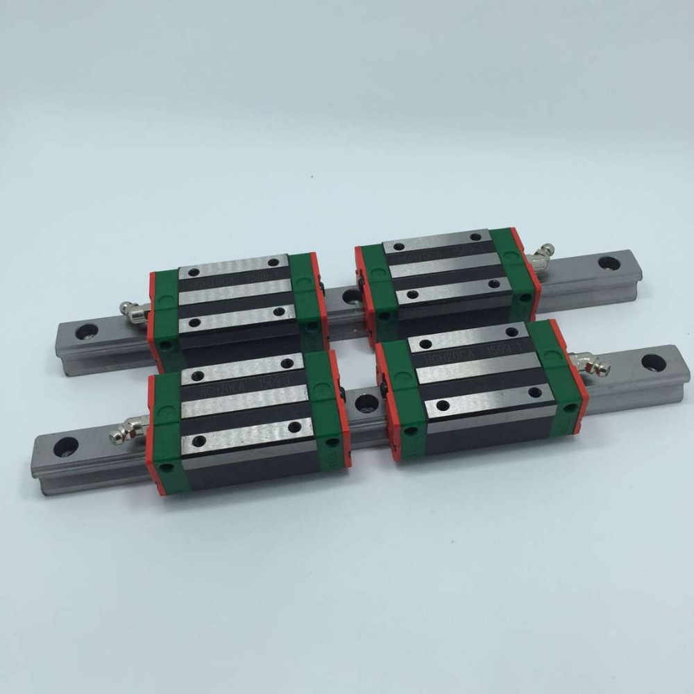все цены на  2 Ballscrews RM1605 400/750mm  +HIWIN15 250/500mm HIWIN20 710mm  + 2 sfu1605 Ballnut housing +  10 couplers  онлайн
