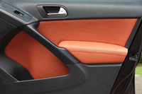 8PCS/SET Auto Modified Accesorries Microfibre Leather Interior Doors Panel Armrest Cover For Volkswagen Tiguan AAB154