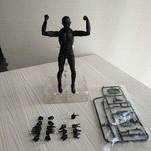 Image 4 - Boceto de Arte de 15CM para hombre y mujer, cuerpo móvil, chan, figuras de acción de juguete, Arte Artístico, Pintura Anime, modelo SHF maniquí