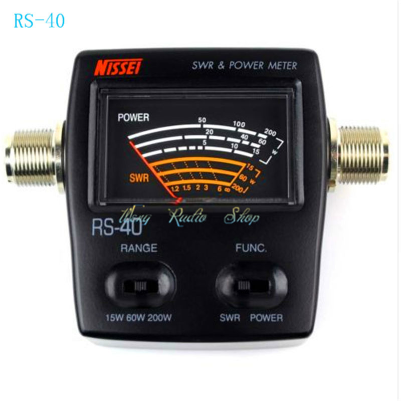 Swr Power Meter : Walkie talkie swr meter nissei rs repeater brand new