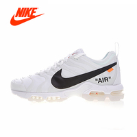 Original New Arrival Authentic Nike Air Max Plus TN Ultra x Off White Men's Cushion Retro Running Shoes Sneakers AA3827 100