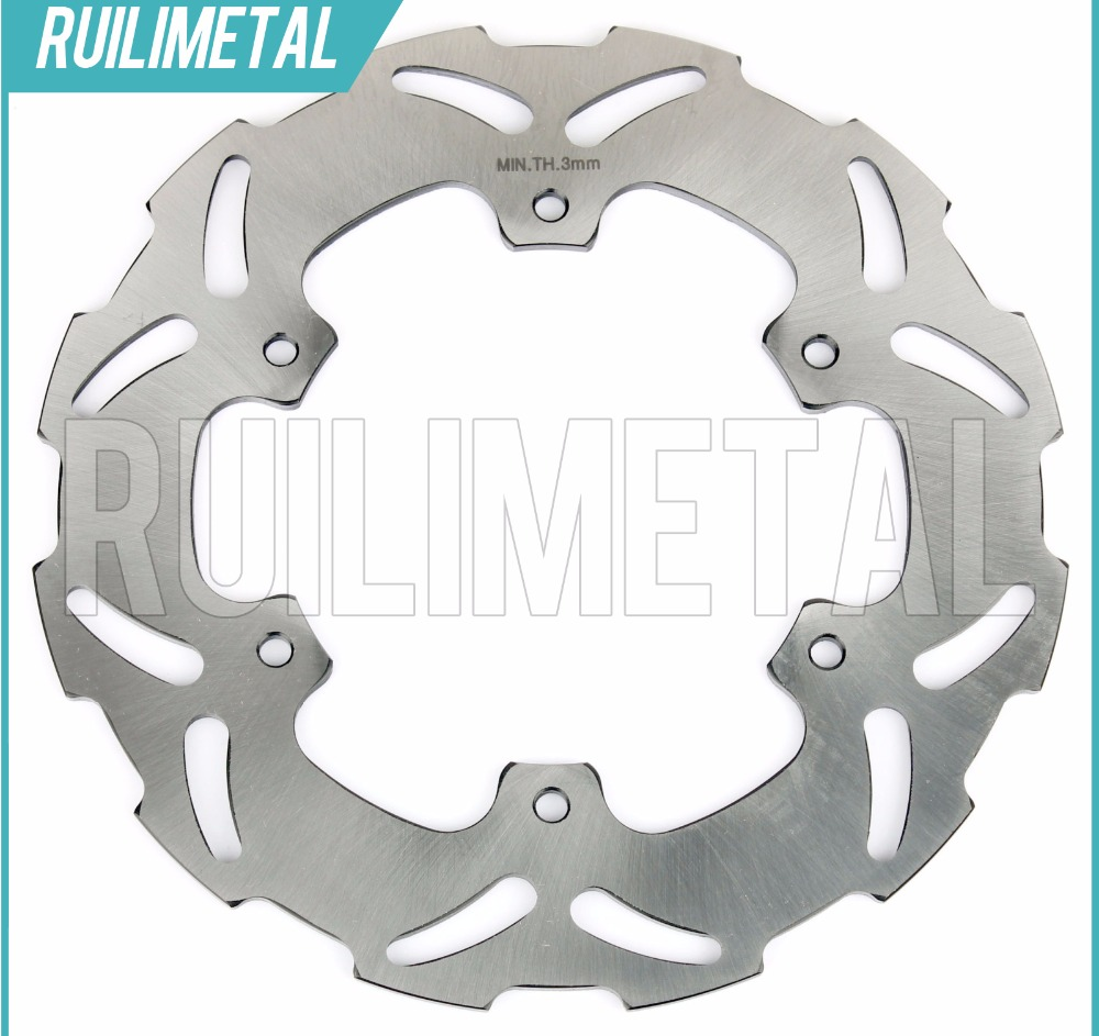Rear Brake Disc Rotor for YAMAHA YZ  WR TDR DT 125 88 89 90 91 92 93 94 95 96 97 98 99 00 01 02 03 R TDR125 U W WR 200 rear brake disc rotor for kawasaki kle500 91 92 93 94 95 96 97 98 99 00 01 02 03 04 05 06 07 klr650 a c kl650 tengai